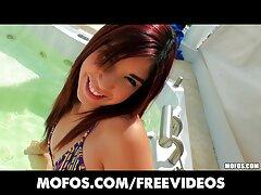 Sexy chica porno mexicano infieles desnuda en la playa,